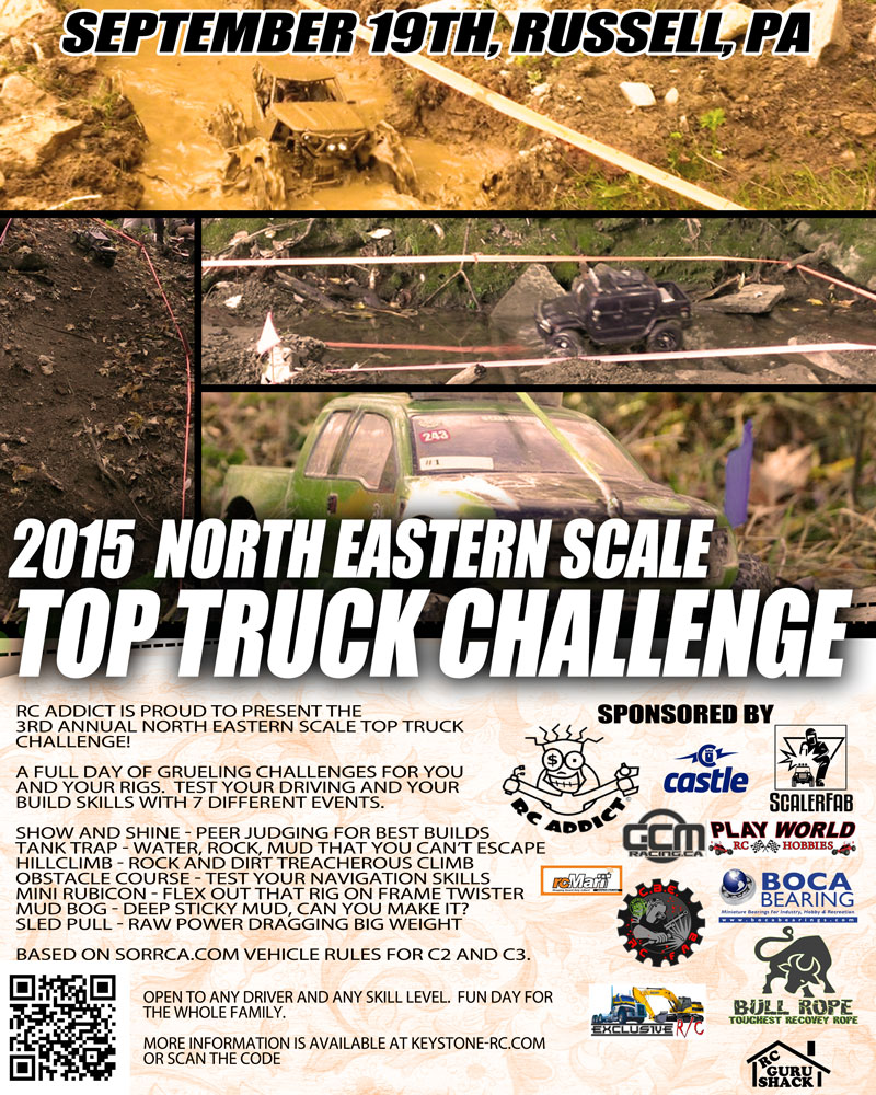 2015 North Eastern Scale Top Truck Challenge!
